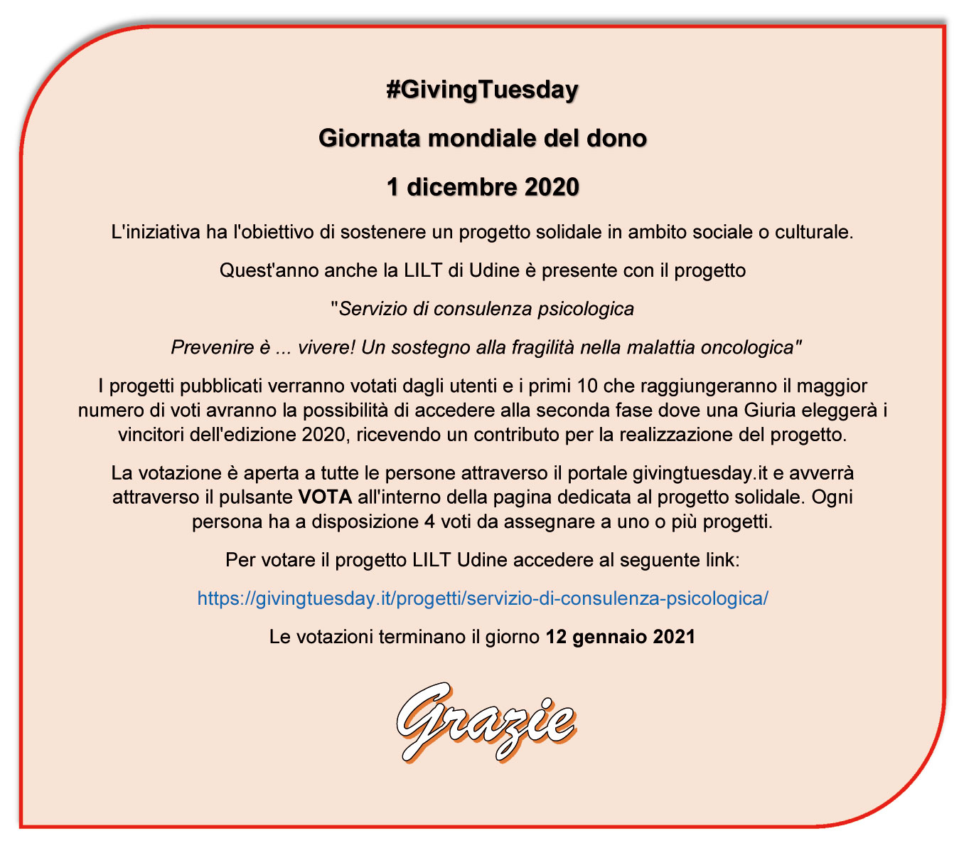 GivingTuesday sito